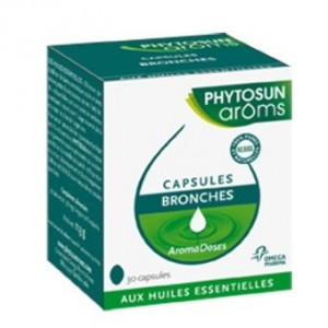Phytosun - Aroms - Aromadoses Bronches - 30 capsules