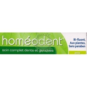 Homéodent Soin Complet Anis 2 x 75 ml