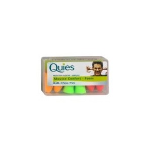 Quies - Mousse Confort Disco - 3 Paires