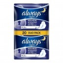 Always Serviette Périodique Ultra Nuit x10 - Duo