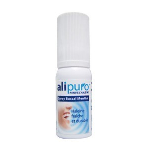 Alipuro - Purifie l'Haleine - Spray Buccal Menthe - 15ml
