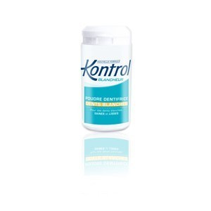 Kontrol - Blancheur - Poudre Dentifrice - Dents Blanches - 30g