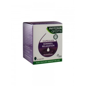 Phytosun - Aroms - Aromadoses Sommeil - Relaxation - 30 capsules