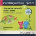 Insectifuge Naturel - Spot-On - Biocanina - Chiots - Chatons - bte 2
